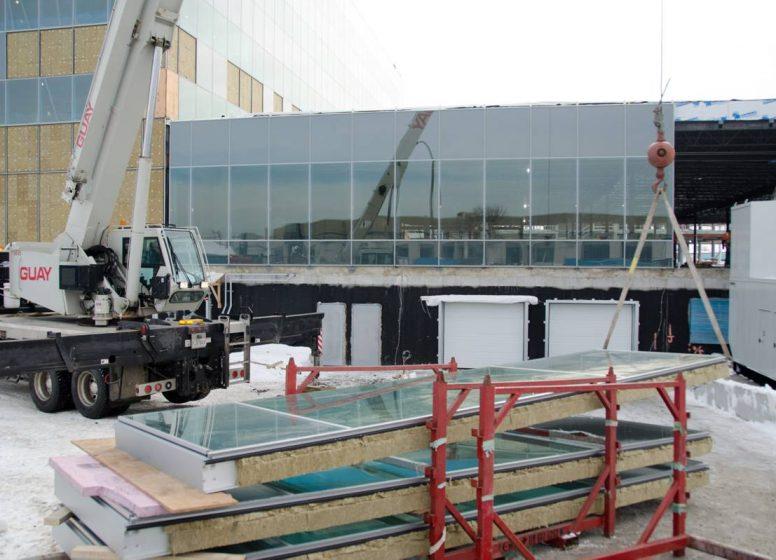 Curtain wall building envelopes design services - Epsylon