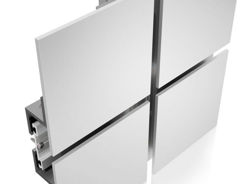 Unitized curtain walls, skylights, aluminum panels - Epsylon